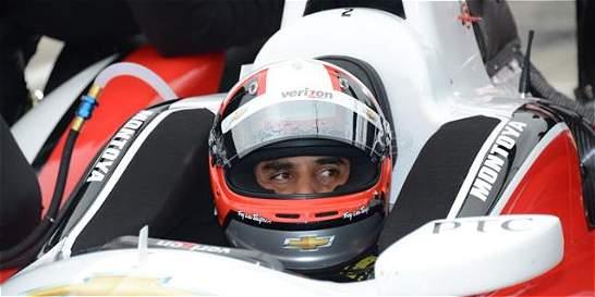 Juan Pablo Montoya se mantiene al frente de la IndyCar