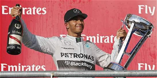 En Wimbledon se reservaron el derecho de admisión con Lewis Hamilton