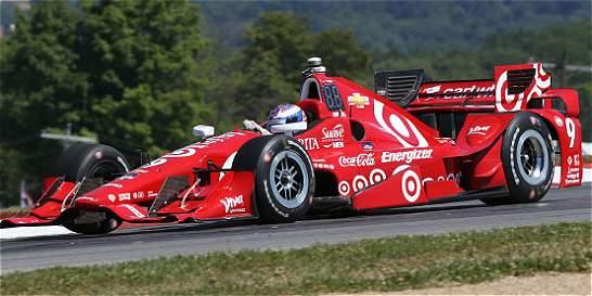 Juan Pablo Montoya saldrá de décimo en Mid Ohio; Dixon ganó la pole