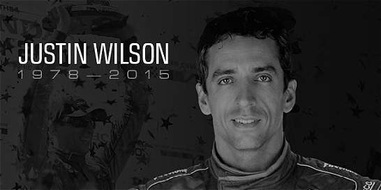 IndyCar rindió homenaje postumo al piloto Justin Wilson