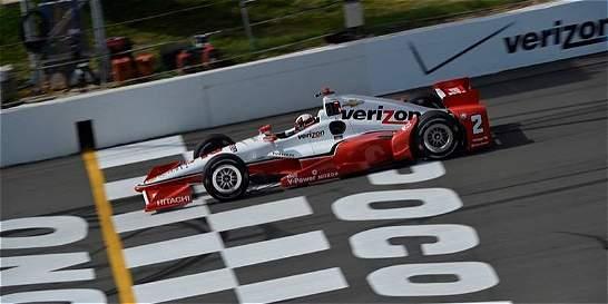 Montoya, noveno en primera práctica del GP de Sonoma