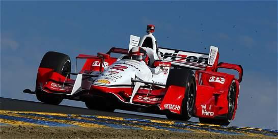 Montoya mejoró y fue cuarto en la segunda práctica de Sonoma