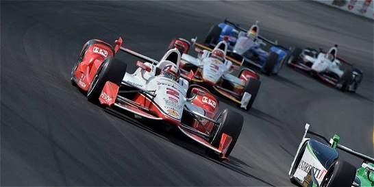 Juan Pablo Montoya no dejó de ser el piloto que siempre fue