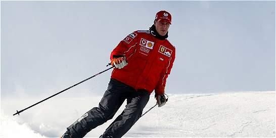 Michael Schumacher pesa ahora 45 kg, según la prensa inglesa