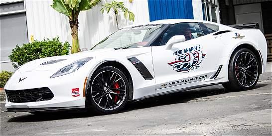 El Corvette de la Carrera de las Estrellas 2015 ya está en Bogotá