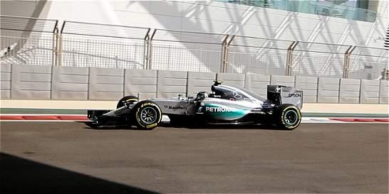 Rosberg lideró los libres y Mercedes va por nuevas marcas en Abu Dabi