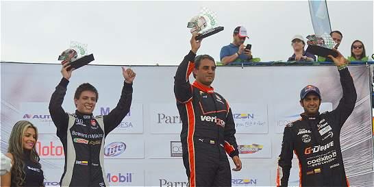 Montoya y Leal ganaron en la Carrera de las Estrellas