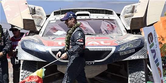 Loeb ganó su tercera etapa y se mantiene líder del Dakar