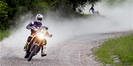 Price gana la quinta etapa en motos del Dakar 2016 que llegó a Bolivia