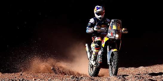 Toby Price logra quinto triunfo en las motos del Rally Dakar