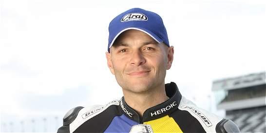 Murió el motociclista colombiano Santiago Villa