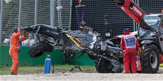 Alonso tras accidente: 'He gastado una de las vidas que me quedaban'