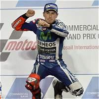 Jorge Lorenzo ganó el Gran Premio de Catar de MotoGP