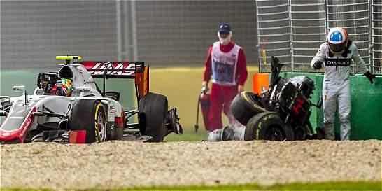 El accidente de Alonso reabre los debates sobre una F1 más segura
