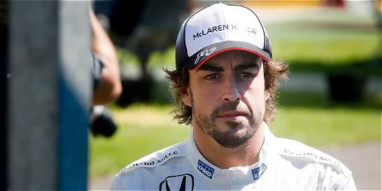 Alonso después de su accidente: 'estoy contento de estar en Baréin'