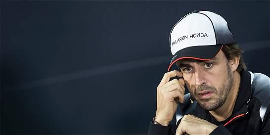 Fernando Alonso no recibió el permiso para correr en Baréin