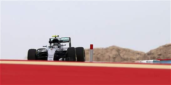 Rosberg fue el más rápido en los entrenamientos libres de Baréin