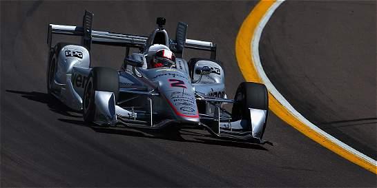 Montoya defiende liderato de la Indy desde el tercer puesto en Phoenix