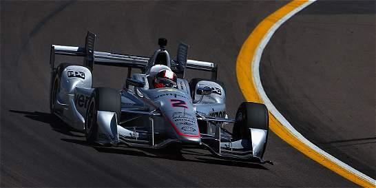 Juan Pablo Montoya saldrá desde el quinto puesto en Long Beach