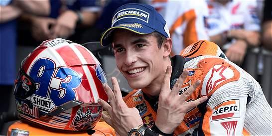 Marc Máquez ganó el Gran Premio de las Américas de Moto GP