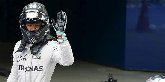 Nico Rosberg saldrá primero en el Gran Premio de Rusia