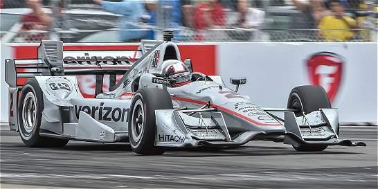 Juan Pablo Montoya sigue en la pelea de la de la IndyCar: es tercero