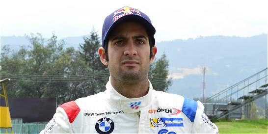 Gustavo Yacamán, segundo en su debut en el International GT Open