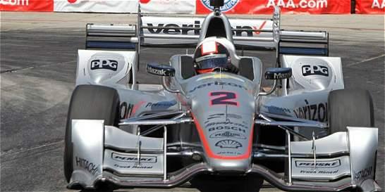 Juan Pablo Montoya fue octavo en el GP de Indianápolis
