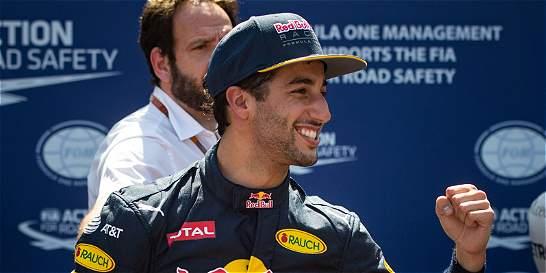 Daniel Ricciardo logró la 'pole position' para el GP de Mónaco