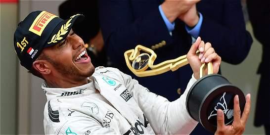 Lewis Hamilton ganó el Gran Premio de Mónaco