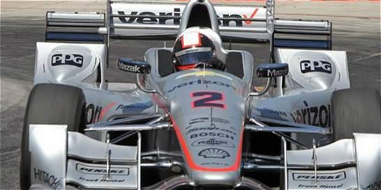 Juan Pablo Montoya abandonó las 500 Millas de Indianápolis