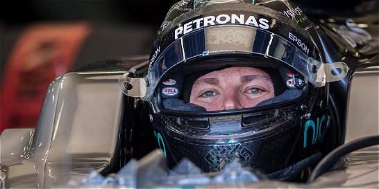 Nico Rosberg saldrá de primero en el Gran Premio de Europa
