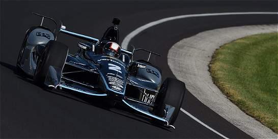 Juan Pablo Montoya se aleja del título de la IndyCar