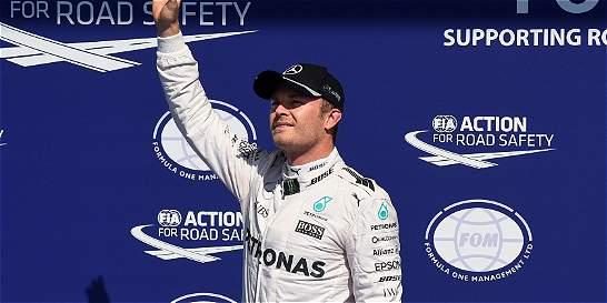 Nico Rosberg, saldrá de primero en el Gran Premio de Bélgica