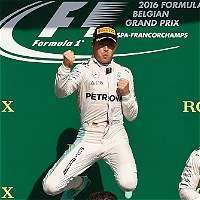 Nico Rosberg ganó el Gran Premio de Bélgica de la F1