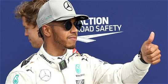 Lewis Hamilton saldrá primero en el Gran Premio de Italia