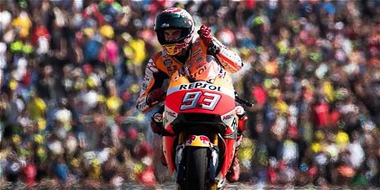Marc Márquez se acerca al título de Moto GP: ganó en Aragón