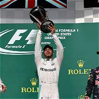Lewis Hamilton ganó el Gran Premio de Austin de la Fórmula 1
