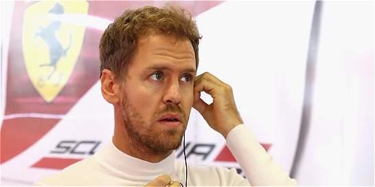 Sebastian Vettel se disculpó por lanzar insultos en el GP de México