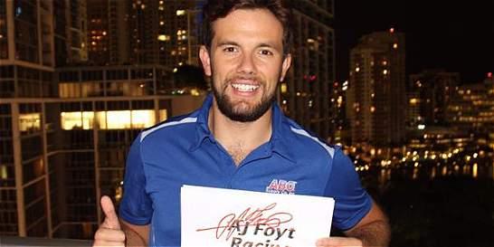 Carlos Muñoz, nuevo piloto de Foyt Racing de la IndyCar