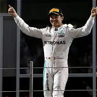 'Orgulloso de haber conseguido la misma hazaña de mi padre': Rosberg