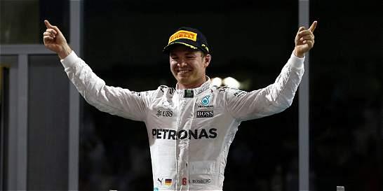 Tras consagrarse campeón, Rosberg anunció su retiro de la Fórmula 1
