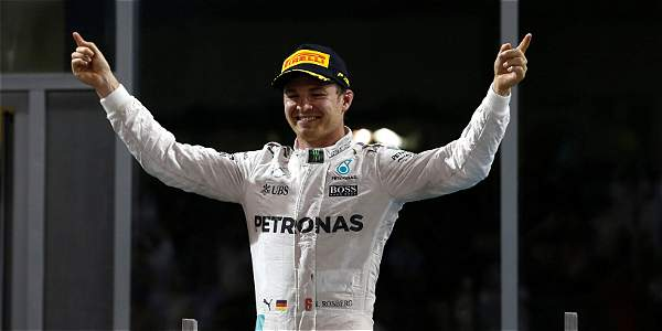 Nico Rosberg, piloto de Mercedes.