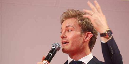 'Me veo en el cine, en una película de acción': Rosberg