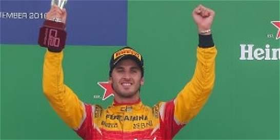 El italiano Giovinazzi será el tercer piloto de Ferrari en 2017