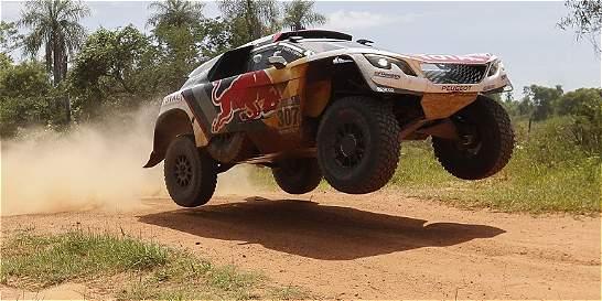 Despres, nuevo líder en autos del Dakar, tras ganar la cuarta etapa