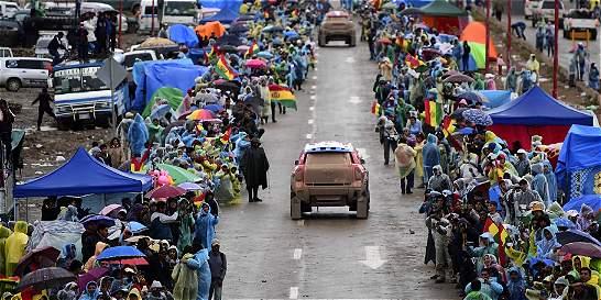Se suspendió la sexta etapa del Dakar por lluvia