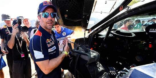 Loeb ganó la octava etapa del Dakar y sigue de líder