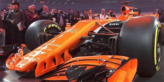 McLaren presentó el MCL32, el nuevo carro para el 2017 en la F1