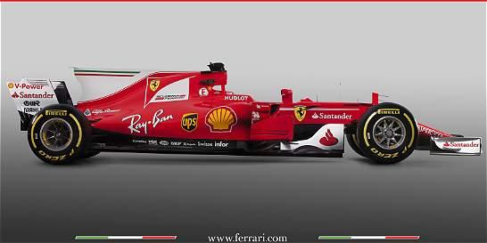 Ferrari presentó su nuevo carro con la idea ser competitivo en la F1